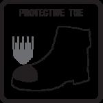 protección de pie