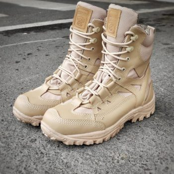 Coyolt 01 bota tactica de color beige
