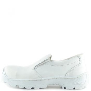 Comfort 02 son botas ultra confortables de color blanco