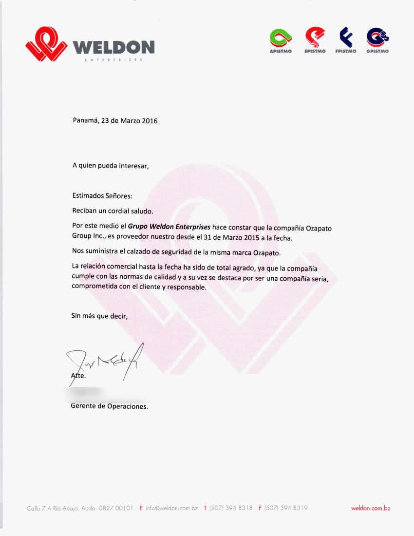 Lujoso Carta De Referencia Reanudar Muestra Ilustración - Colección ...
