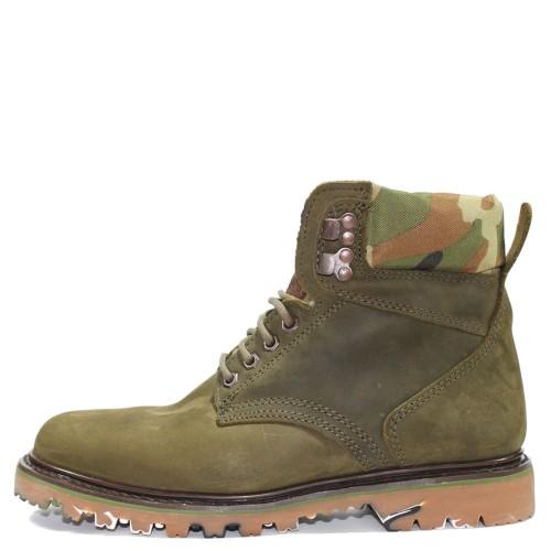 premium streetwear leather boots handmade